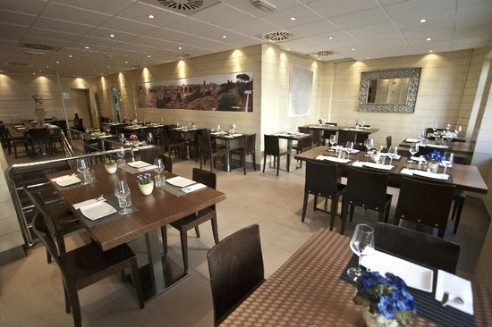 Restaurante Palatino: Comedor confortable