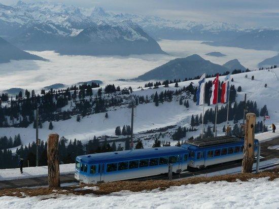 train station on Mount Rigi