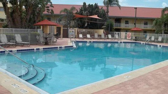 La Quinta Inn Cocoa Beach: midweek stay