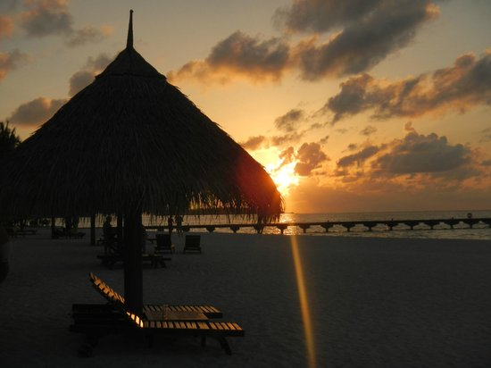 Sun Island Resort and Spa : coucher de soleil