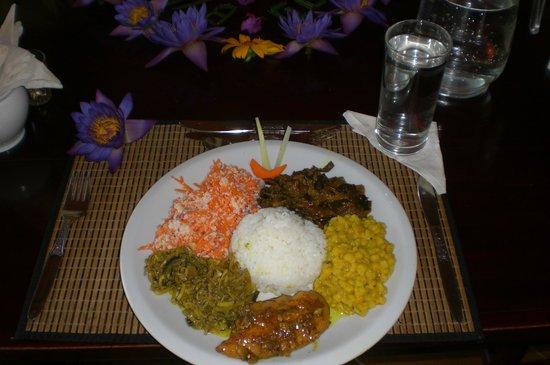 SeethaRama Ayurveda Resort : Jeden Tag leckeres abwechslungsreiches Essen