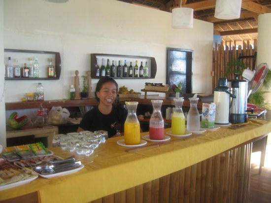 Ocean Vida Beach & Dive Resort: Hotel restaurant