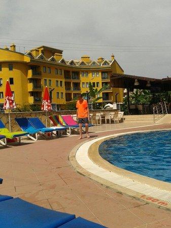 Apart Green Park: Thhe pool