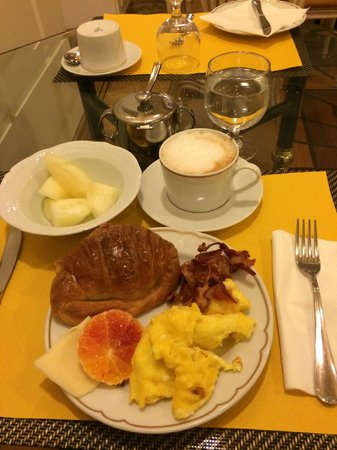 Duca D'Alba Hotel : Breakfast options