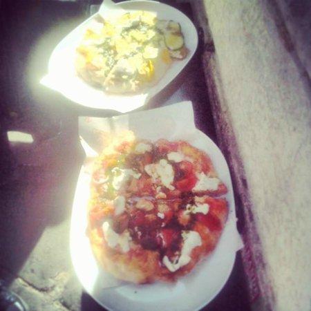 Pinsere: Pizzas