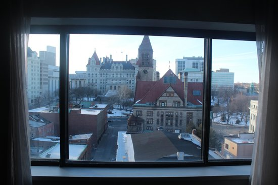 Hilton Albany : The view from my room.