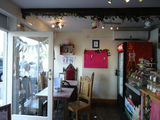 The Mad Hatter's Tea Party: Inside the cafe