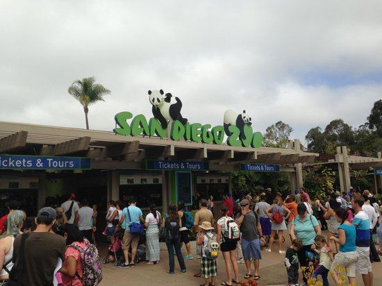 San Diego Zoo : Zoo Entrance
