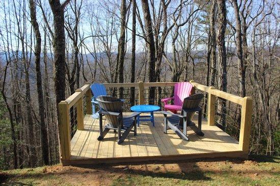 Snowbird Mountain Lodge Bed and Breakfast: New Deck