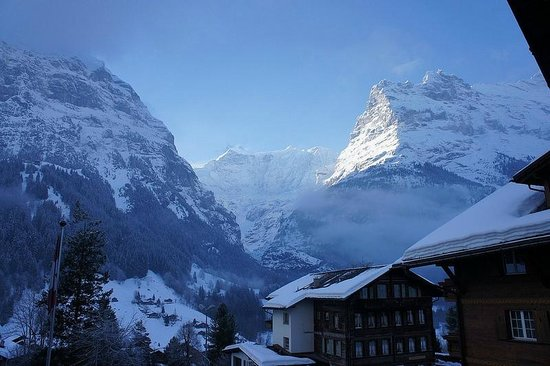 Hotel Gletschergarten : View from balcony