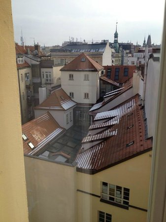 Hotel Hastal Prague Old Town : top floor room!