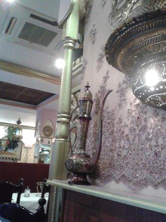Le Royal Shah Jahan : Décoration très lumineuse