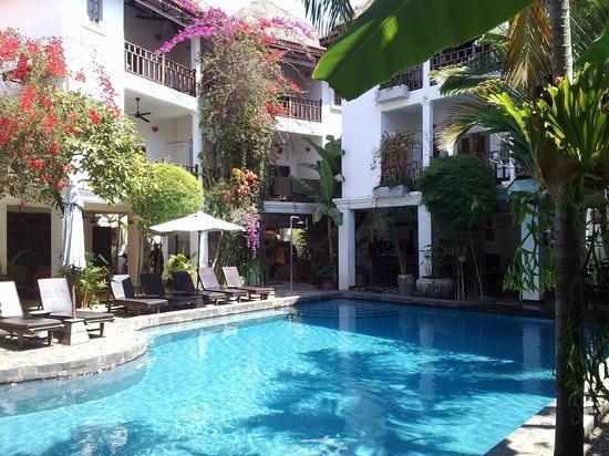 Rambutan Resort - Siem Reap: pool and plants