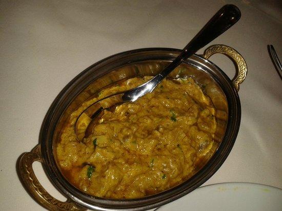 Le Royal Shah Jahan : Caviar d'aubergine