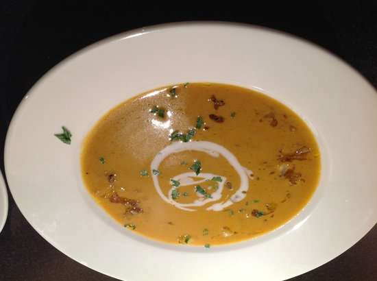 Melfort House: Crab bisque