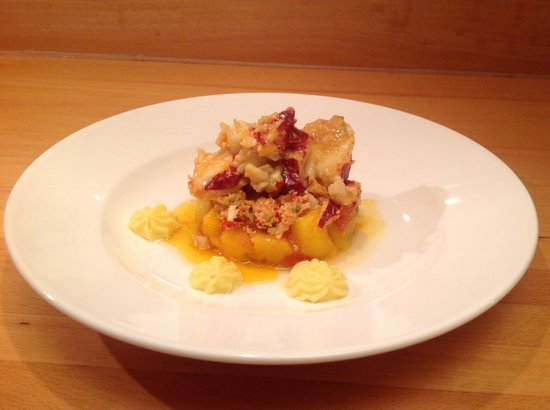 Melfort House: Lobster with a tian of mango and chilli