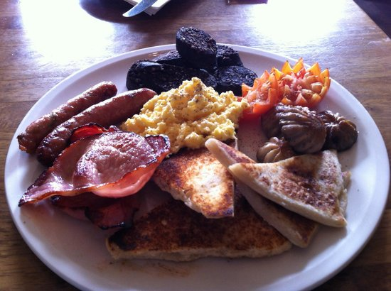 The Georgian House: There large breakfast