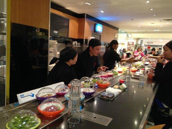 Yo! Sushi: You Sushi in Selfridges
