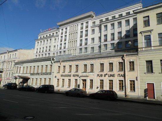 Solo Sokos Hotel Vasilievsky : vue exterieure