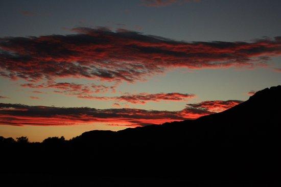 Melfort House: Sun set