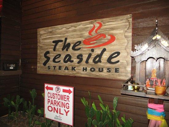 The Seaside steakhouse : Entrance