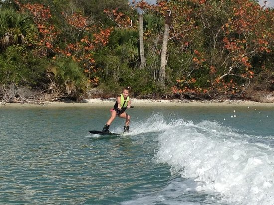 Waterski and Wakeboard Charters: first time