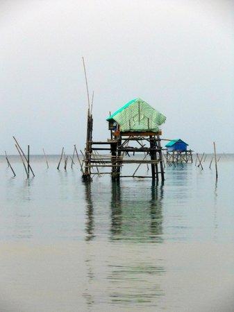 Peppercorn Beach Resort: Fishermans huts