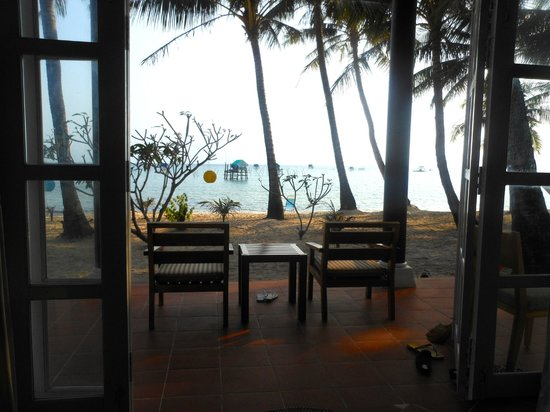 Peppercorn Beach Resort: View from my bed!