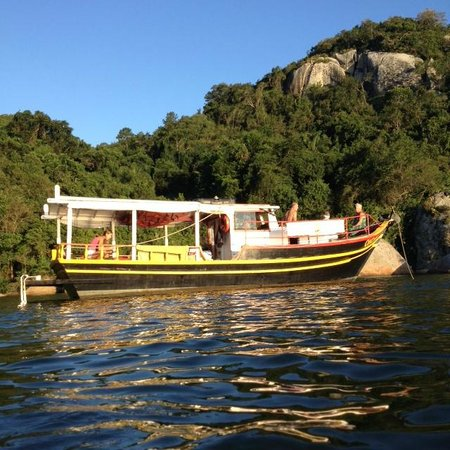 Ondanca Boat Trips: The boat can take up to 24 people