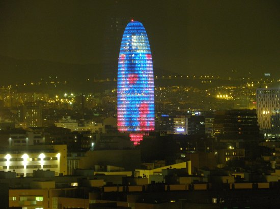 Hotel Arts Barcelona: City view from my room