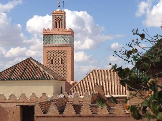 La Sultana Marrakech: Aussicht von der Dachterrasse