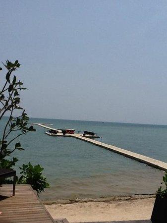 Le Meridien Koh Samui Resort & Spa: ponton