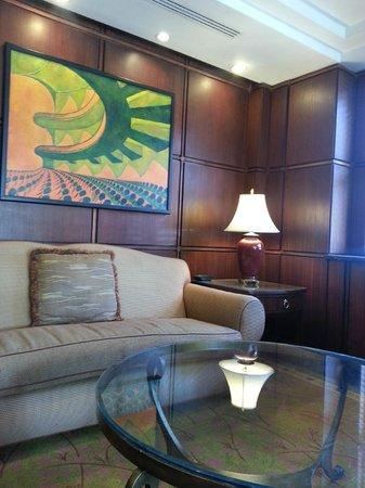 Skyline Hotel: Lobbyinteriör.