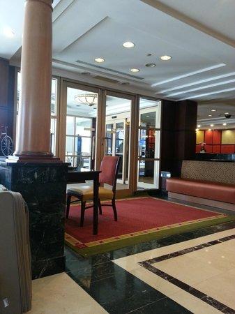 Skyline Hotel: Lobby.