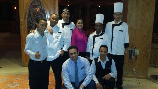 SENTIDO Palm Royale: ASIAN team were marvelous. .