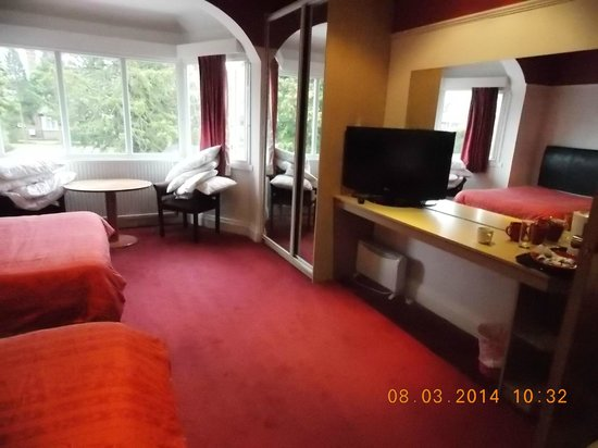 Westfield Court Hotel: Large double