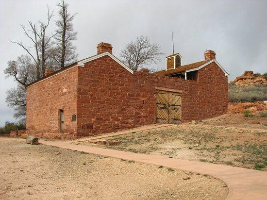 Pipe Spring National Monument: The main building at the site