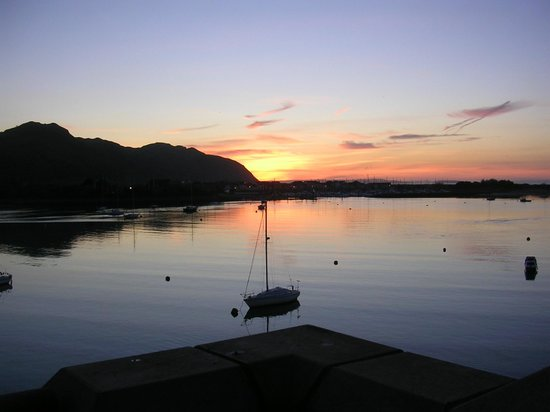 The Quay Hotel & Spa: Beautiful sunset