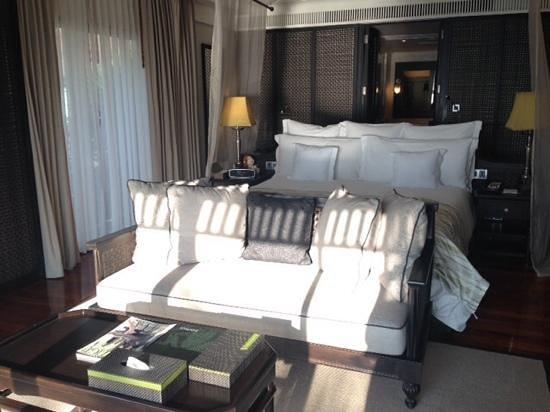 InterContinental Samui Baan Taling Ngam Resort: la magnifique et grande chambre !