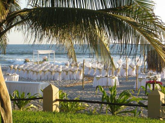Hotel Tortuga Village: Beach Wedding