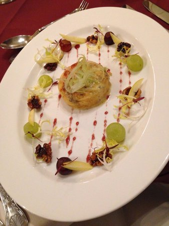 Cragwood Country House Hotel: Twice baked cheese soufflé - so good!