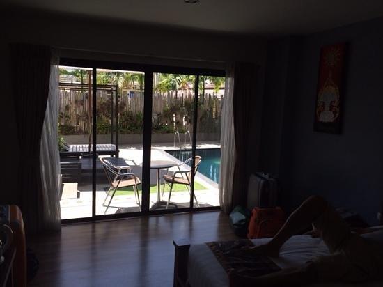 บูกิตตา โฮเต็ล แอนด์ สปา: room with pool access