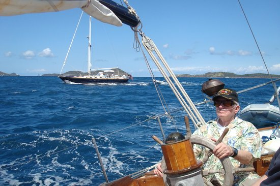 Morningstar Sailing and Power Charters : Great way to celebrate your 90th birthday!