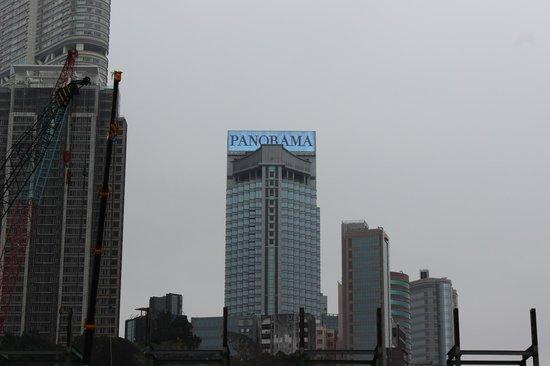 Hotel Panorama by Rhombus : Hotel Panorama from the TST promenade