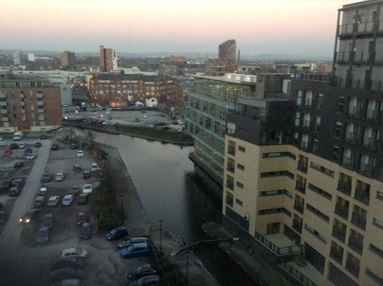 Premier Inn Manchester City Centre (Piccadilly) Hotel: view from 6th floor