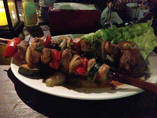 Restaurant Casa de Piedra: Grosse Portionen, sehr fein