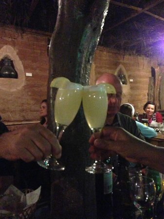 Restaurant Casa de Piedra: Pisco sour