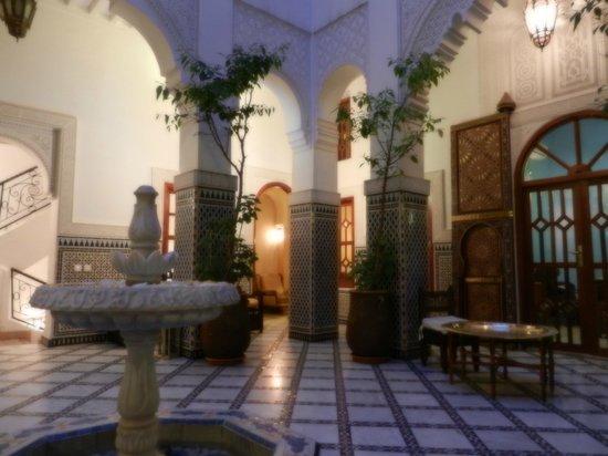 Riad & Spa Esprit du Maroc : innenhof