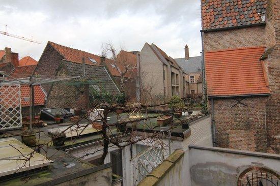 Hotel Boterhuis: вид из номера