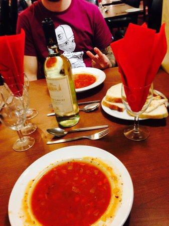 Britannia Hotel Bournemouth: Minestrone soup